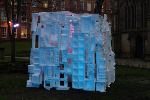 Imitation iceberg - An artwork proposed by Paul Matosic