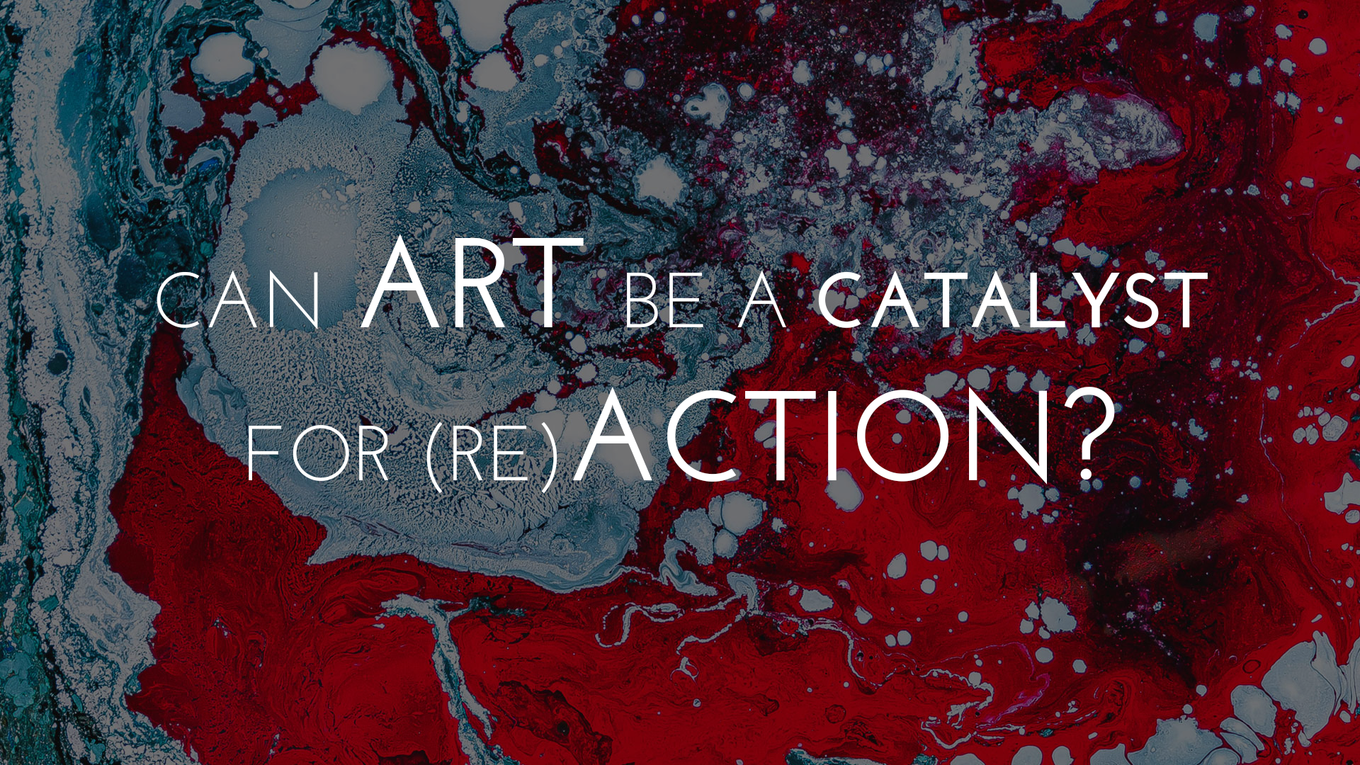 Can Art be a Catalyst for Action