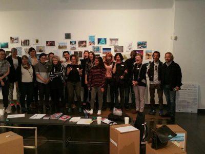 Hackathon at Hybridart Space, Photo: Helen Russell Brown